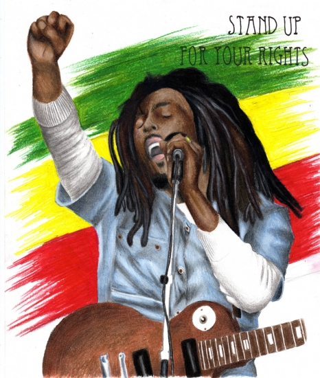 Bob Marley por AeroArtist2